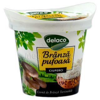 Delaco Branza Pufoasa cu Ciuperci