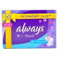 Always Fresh Absorbante Normale