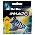 Gillette Mach 3 Rezerve pentru Aparatul de Ras