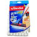 Vileda Ultra Max Rezerva Mop Plat Microfibra cu Spray