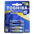 Toshiba Alpha Power Baterii Alkaline  LR3 AAA