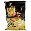 Sam Mills Tortilla Chips cu Aroma de Branza Nacho + Dip de Branza