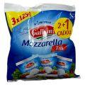 Galbani Mozzarella Tris Branza Italieneasca Proaspata in Zer