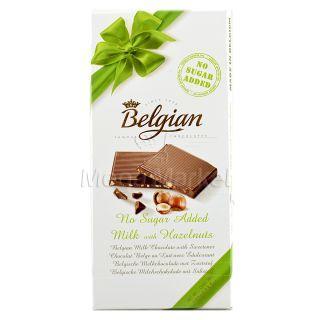 Belgian Ciocolata cu Lapte cu Indulcitori