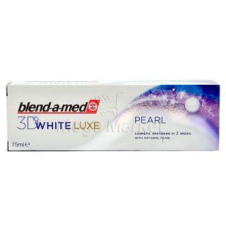 Blend-a-med 3D White Luxe Pearl Pasta de Dinti