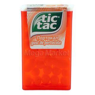 Tic Tac Dropsuri cu Gust de Portocale