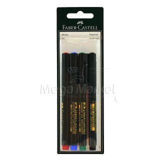 Faber Castell Liner 4 Coluri
