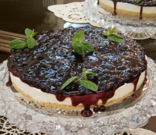 Cheesecake cu coacaze
