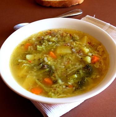 Ciorba de legume dietetica