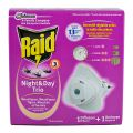Raid Night&Day Insecticid Aparat Electric Impotriva Tantarilor si Mustelor