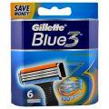 Gillette Blue 3 Rezerve pentru Aparatul de Ras