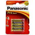 Panasonic Baterii Pro Power LR3 AAA