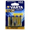 Varta Baterii Alkaline Longlife LR3 AAA